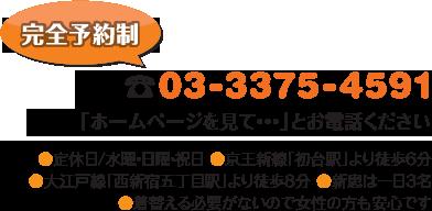 電話:03-3375-4591